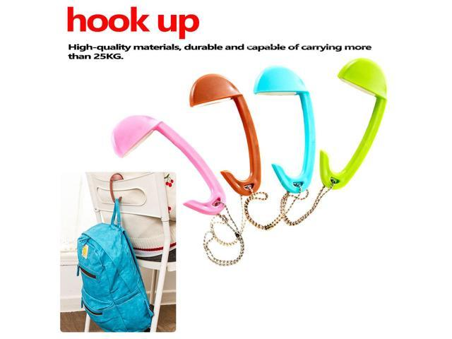 Multi Color Bag Tote Handbag Hanger Purse Table Hook Earphone Holder Blue/Pink For Women Girls Gifts (Electronics Computers Handheld Devices Pdas) photo