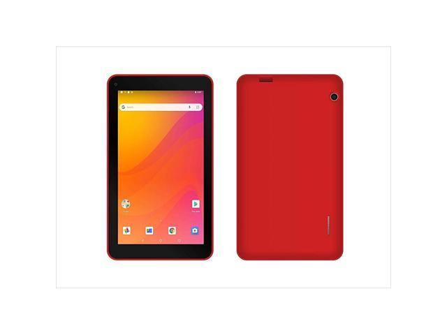 Ematic 7' Tablet Android 8.1 Go Edition Tab Red EGQ378RD