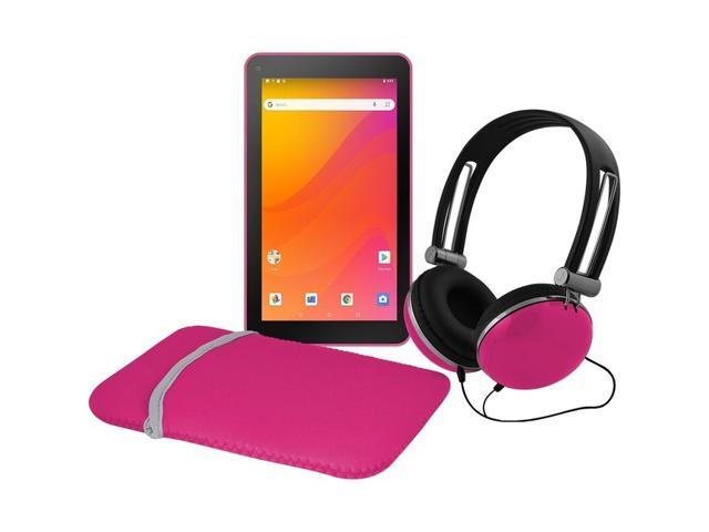 Ematic 7'Tablet Android 8.1 Go Edition Tab Pink EGQ378PN