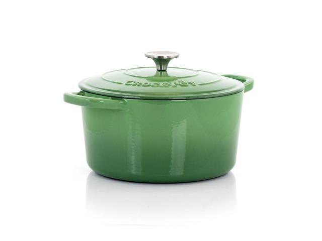 Gibson 7 Quart Artisian Dutch Oven and Lid Pistachio Green photo