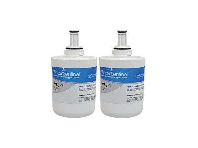watersentinel wss1 refrigerator replacement filter: fits samsung hafcu1 filters 2pack photo