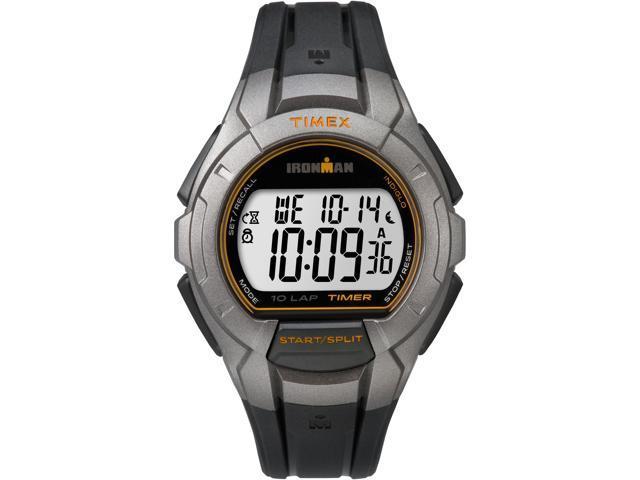 Timex Men's Ironman Essential 10-Lap Recall Gray Sport Watch TW5K93700