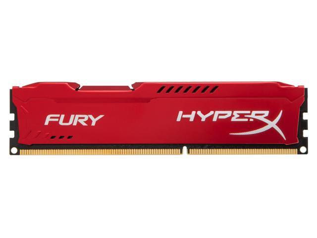 Kingston Technology HyperX FURY Red 4GB 1333MHz DDR3 (740617230291 Electronics Memory Ram) photo