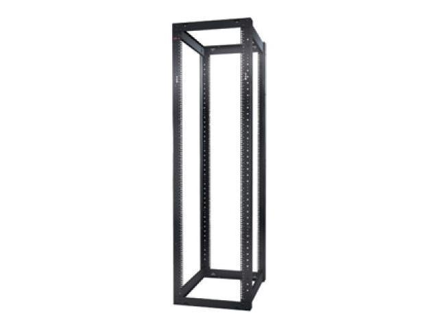 Schneider Electric NetShelter 4 Post Open Frame Rack 44U Square Holes AR203A photo