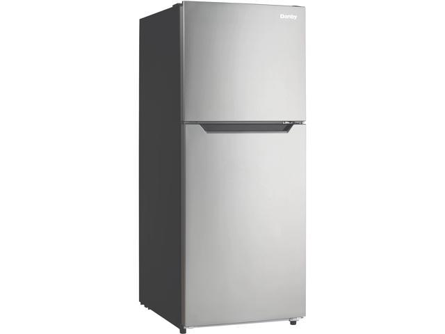 Danby 10.1 Cu. Ft. Refrigerator w/Freezer, Stainless Steel Look DFF101B1BSLDB photo