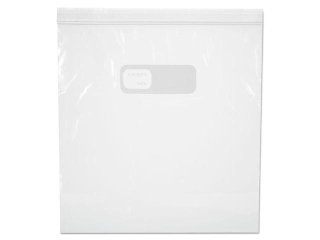Boardwalk Reclosable Freezer Storage Bags 1 Gal Clear LDPE 10.56 x 11 250/Box photo