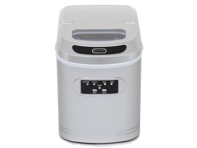 Whynter IMC-270MS Compact Portable Ice Maker 27 lb capacity - Metallic Silver photo