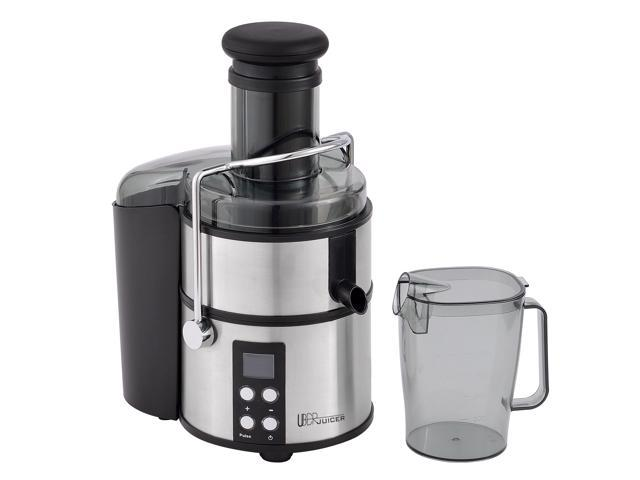 Uber Appliance UB-CJE Uber Juicer High Power Electric Centerfuigal Juice Extractor 800W 4-Speed Digital Display Juicer Stainless Steel photo