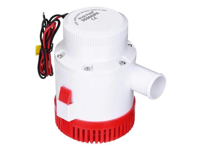 3500GPH 12V Electric Marine Submersible Bilge Sump Water Pump for Boat Yacht photo