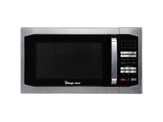 Magic Chef(R) MCM1611ST 1.6 Cubic-ft Countertop Microwave (Stainless Steel) photo