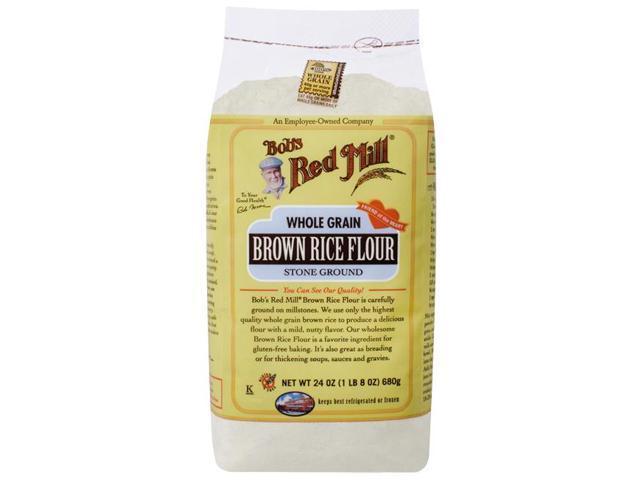 Bob's Red Mill Whole Grain Brown Rice Flour 24 oz (680 grams) Pkg photo