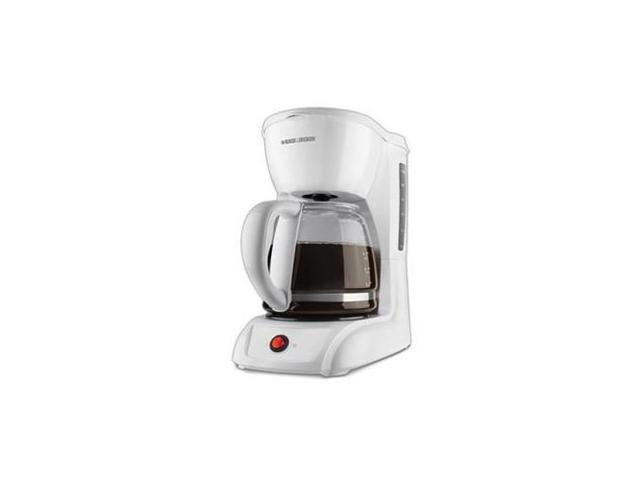 Black & Decker CM1200W 12-Cup Switch Coffeemaker, White photo