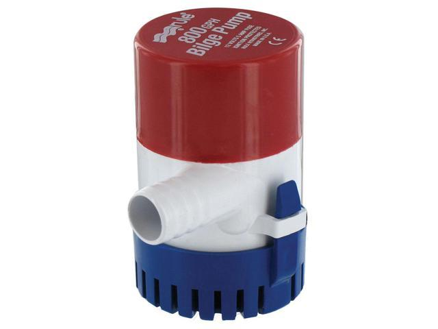 RULE 800 GPH ROUND NON AUTOMATIC BILGE PUMP 3/4' OUT 20R photo