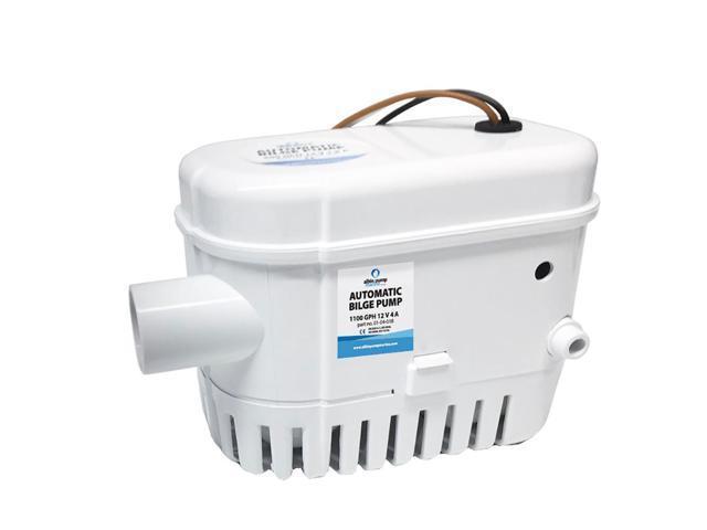 Albin Pump Automatic Bilge Pump 1100 GPH - 12V photo