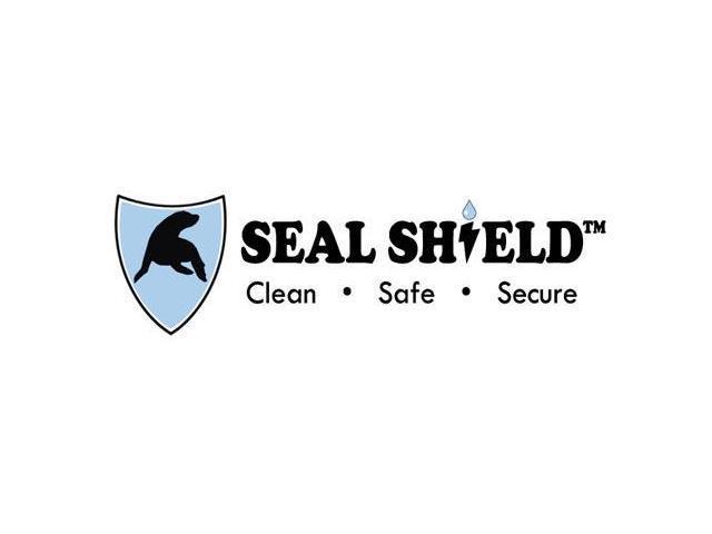 Seal Shield SSKSV208TR Silver Seal Medical Grade Keyboard - Dishwasher Safe & Antimicrobial - Qwerty I photo