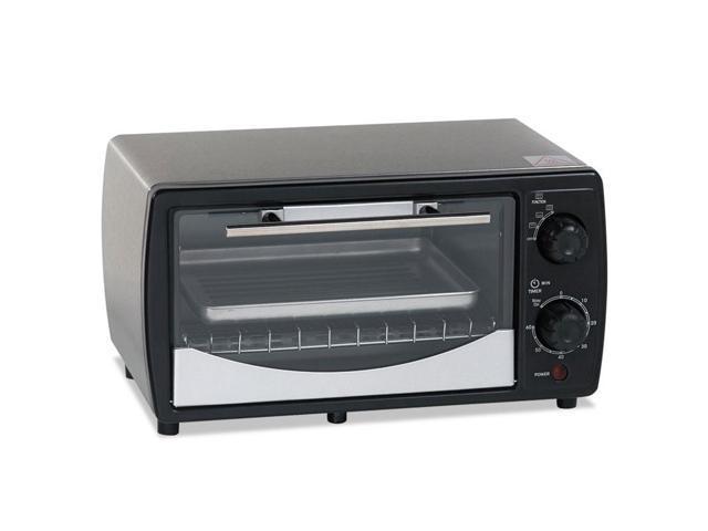 Avanti POW31B Toaster Oven, 0.32 Cu Ft Capacity, Stainless Steel/Black, 14 1/2 X 11 1/2 X 8 photo