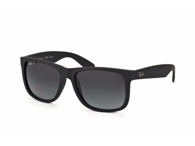 458167482f4268 Ray-Ban Justin Classic Polarized Sunglasses (Black Gray) - Newegg.com