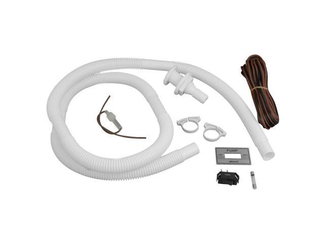 Attwood Bilge Pump Installation Kit w/Switch, 3/4' Hose Clamps & 20' Wire Fuse Holder photo