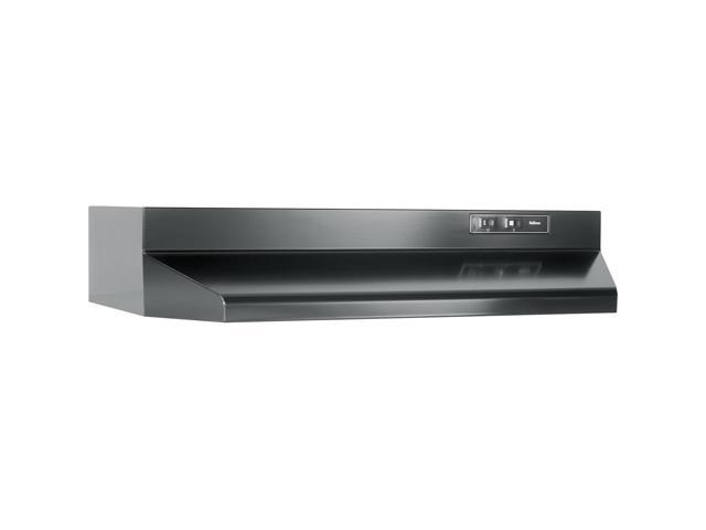 Broan F402423: 24' Convertible Range Hood, Black photo