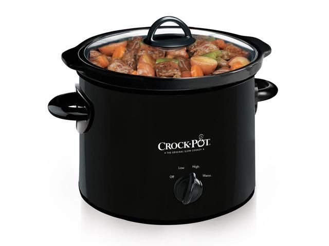 Crock-Pot 3-Quart Manual Slow Cooker, Black SCR300-B photo