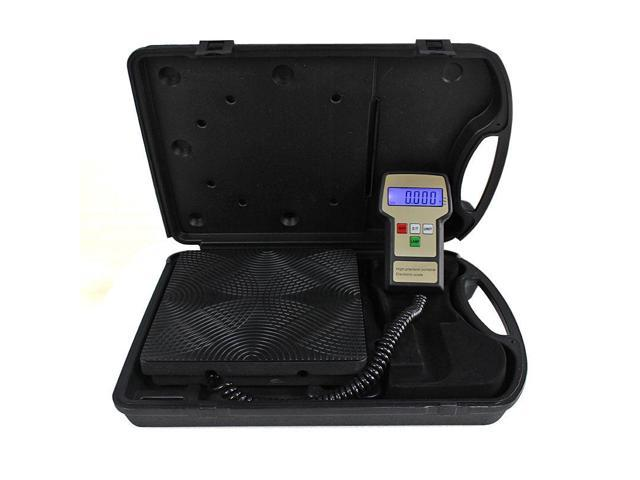 220 lbs Electronic Refrigerant Charging Digital Weight Scale with Case A/C HVAC photo