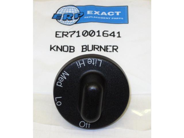71001641 for Jenn Air Maytag Gas Range Burner Knob Black PS2077264 AP4088491 photo