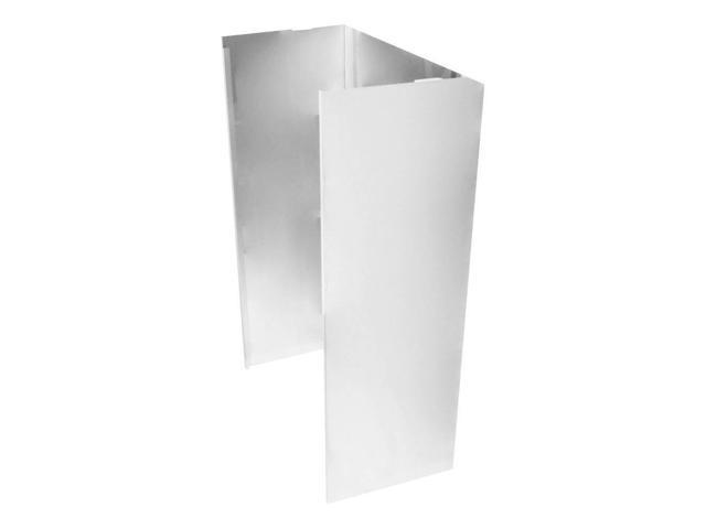 KitchenAid - Chimney Extension Kit for Wall Mount Hoods - Stainless steel photo