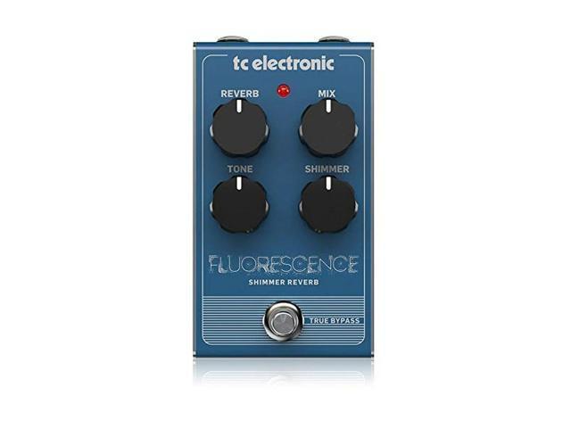 TC Electronic Electric Guitar Single Effect FLUORESCENCE SHIMMER REVE photo