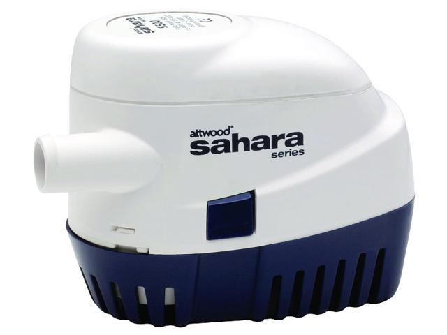 Attwood Sahara S500 Automatic Bilge Pump 12V 500 Gph photo