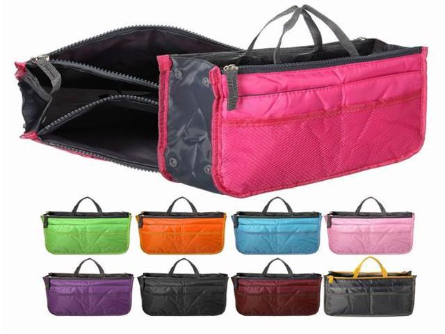 Women Durable Tidy Multifunction Handbag Organiser Purse Large Nylon Fabric Mesh Lady Storage Bag (Home & Garden Household Supplies) photo