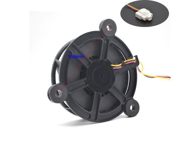 Fridge fan motor GW10C12MS1BA GW10C12MS1BA-52Z07 For Haier free frost-free Refrigerator 12V cooling fan blower photo