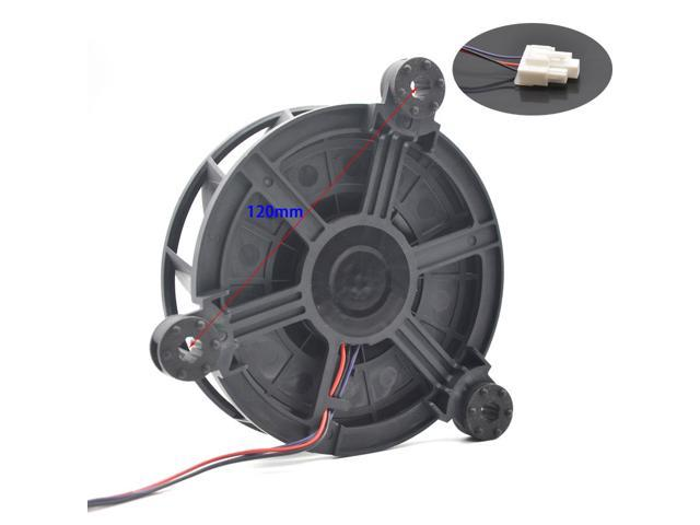 GW12E12MS1DB GW12E12MS1DB-52Z99 new fan refrigerator blower For Haier For Rongsheng Free frost-free refrigerator 12v fan photo
