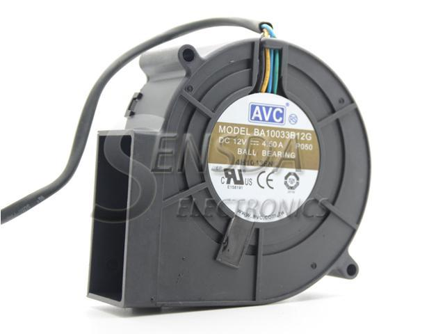 Original AVC BA10033B12G P050 9733 DC 12V 4.5A super violent Blower air dryer exhaust fan photo