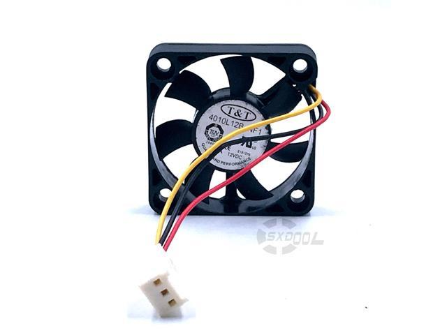 Fan 40x40x10mm 4x4x1cm Mini Small Fan 3Pin Power 5V 40mm 4cm