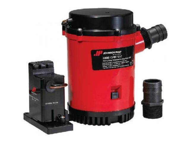Johnson Pump 2200GPH Auto Bilge Pump w/Mag Switch - 12V photo