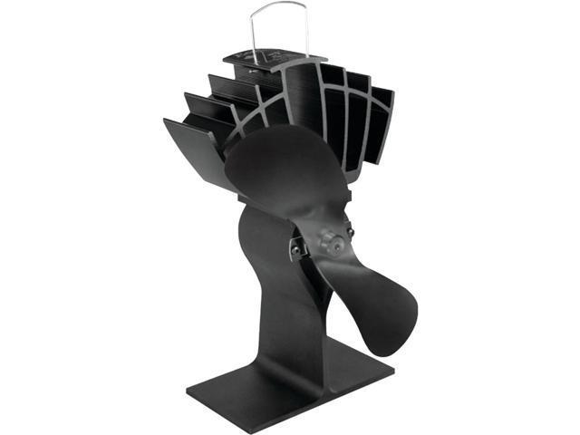 Caframo Ecofan Ultrair Black Blade Heat Powered Stove Fan photo