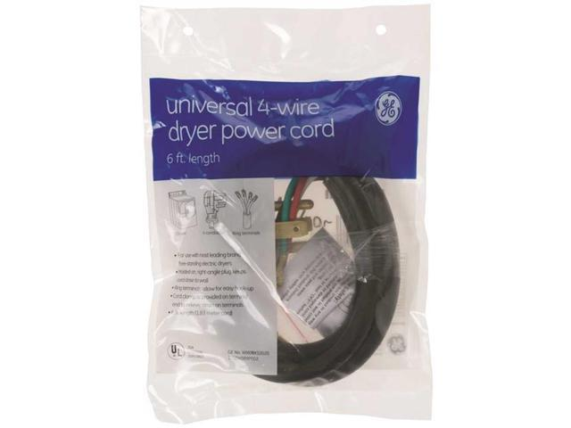 Ge Wx09X10020 Ge 6 Ft. Dryer Cord 30 Amp 4 Wire photo