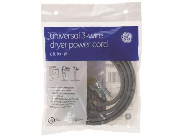 Ge Wx09X10004 Ge Universal Dryer Cord 3 Wire 6 Ft. 30 Amp photo