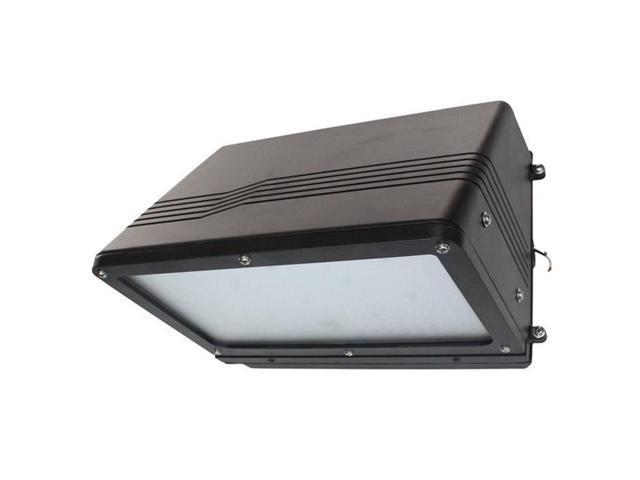 Larson Electronics LEDHWW-900-56K-BRN 120 - 277V AC & 90 watt Brown Traditional LED Wall Washer, Replaces 400 watt Metal Halide Fixtures, IP65 - 5600K photo
