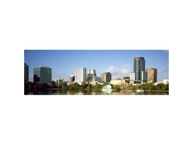 Panoramic Images PPI127702L Buildings at the waterfront Lake Eola Orlando Orange County Florida USA 2010 Poster Print by Panoramic Images - 36. (Arts & Entertainment Artwork) photo
