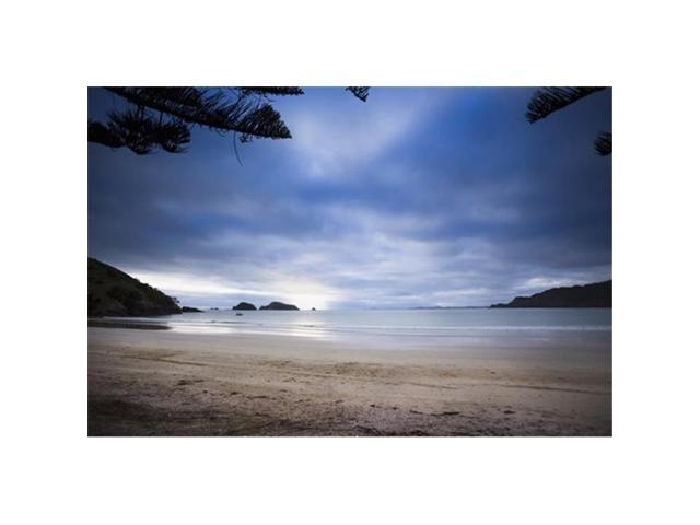 Posterazzi DPI12304401 Beachfront Camping in Matauri Bay - Northland New Zealand Poster Print by Micah Wright, 18 x 12 (Toys & Games Toys Educational Toys) photo