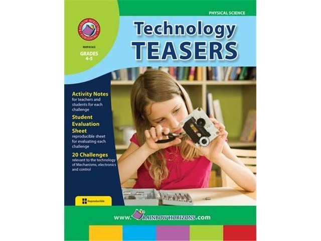 Rainbow Horizons A165 Technology Teasers - Grade 4 to 5 (Toys & Games Toys Educational Toys) photo