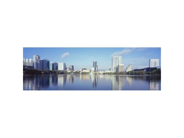 Panoramic Images PPI127705L Buildings at the waterfront Lake Eola Orlando Orange County Florida USA 2010 Poster Print by Panoramic Images - 36. (Arts & Entertainment Artwork) photo