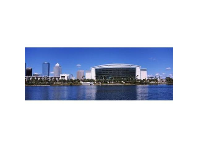 Panoramic Images PPI111918L Buildings at the waterfront St. Pete Times Forum Tampa Florida USA Poster Print by Panoramic Images - 36 x 12 (Arts & Entertainment Artwork) photo