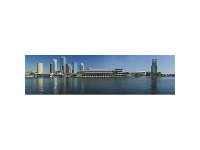 Panoramic Images PPI132432L Buildings at the waterfront Tampa Hillsborough County Florida USA Poster Print by Panoramic Images - 36 x 12 (Arts & Entertainment Artwork) photo