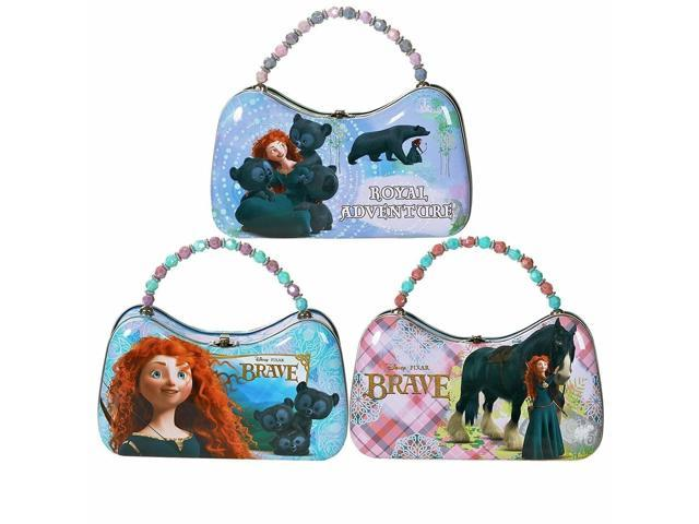 Brave Princess Merida Carry All Tin Scoop Purse with Beaded Handle (655036952627 Luggage & Bags) photo