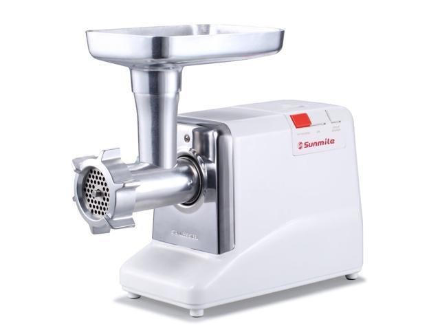 Sunmile Electric Meat Grinder, Sausage Stuffer Kit 1000W Max 200 lbs ETL Certificated Stainless Steel Mincer Food Grinder-3 Grinding Plates, 1. photo