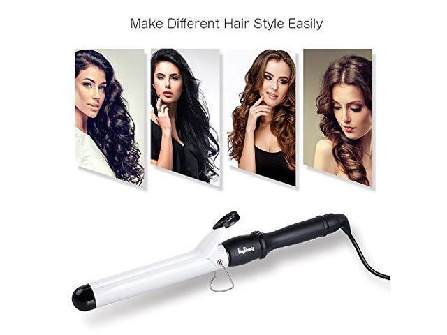 38 mm Professional Hairstyle Tools Ceramic Curling Wand Curling Iron ...