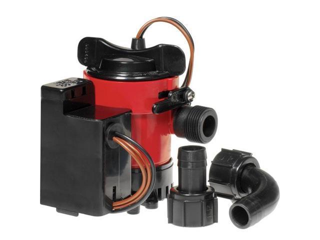 """32703 Johnson Pump 750 GPH Bilge Pump 3//4/"""" Hose 12V Dura Port"""