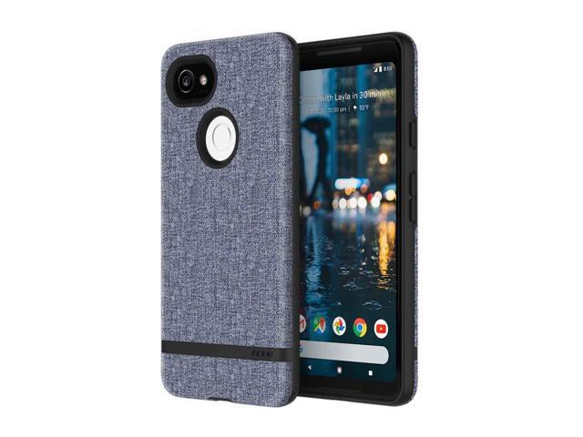 hot sale online fc0ea e5165 Incipio Carnaby Google Pixel 2 XL Case [Esquire Series] with Co-Molded  Design and Ultra-Soft Cotton Finish for Google Pixel 2 XL - Blue -  Newegg.com
